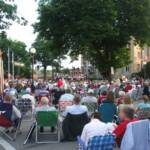 Great weather, a great audience and great music.  An unbeatable combination for the 4th of July!