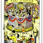 150th anniversary illustration by Tom Batiuk (Funky Winkerbean artist) who is a Medina resident.
