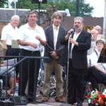 Mr. Neiman thanked Dr. Hoge, Mayor VanWoert and the town of Mercer for hosting the band for this concert.