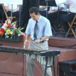 Nick Lakatos, featured xylophone solist.
