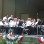 "The clarinet section was featured during ""The Clarinet Polka""."