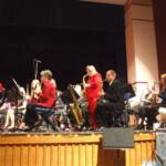 "Tammy Menk was a saxophone soloist on ""Christmas from the 50's"" along with Rita Ferrere on trumpet."