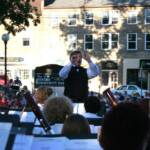 Dr. Hendley D. Hoge, Director, Mercer Community Band