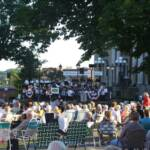 Great weather and great music were enjoyed by the large crowd.
